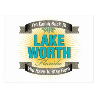 Estoy volviendo (el lago digno de) tarjeta postal