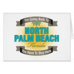 Estoy volviendo (el Palm Beach del norte) Tarjeta