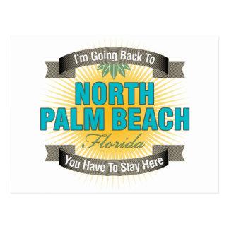 Estoy volviendo (el Palm Beach del norte) Postal