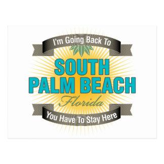 Estoy volviendo (el Palm Beach del sur) Tarjeta Postal