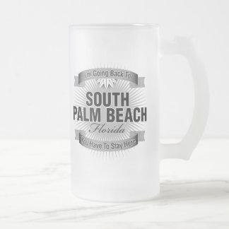 Estoy volviendo (el Palm Beach del sur) Taza Cristal Mate
