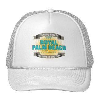 Estoy volviendo (el Palm Beach real) Gorra