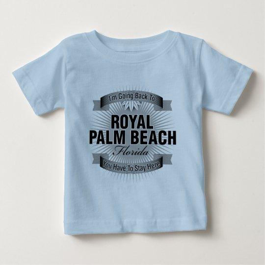 Estoy volviendo (el Palm Beach real) Playera De Bebé
