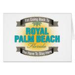 Estoy volviendo (el Palm Beach real) Tarjetas