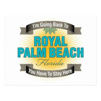 Estoy volviendo (el Palm Beach real) Tarjetas Postales