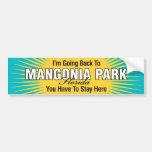 Estoy volviendo (el parque de Mangonia) Etiqueta De Parachoque