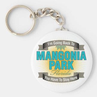 Estoy volviendo (el parque de Mangonia) Llavero Redondo Tipo Pin