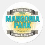 Estoy volviendo (el parque de Mangonia) Etiqueta Redonda