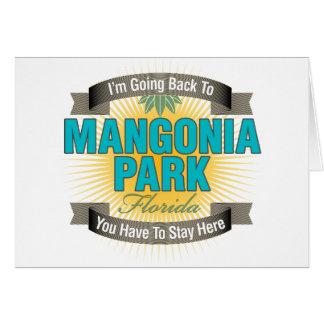 Estoy volviendo (el parque de Mangonia) Felicitación