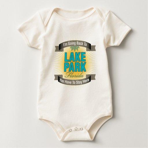 Estoy volviendo (el parque del lago) traje de bebé