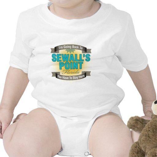 Estoy volviendo (el punto de Sewall) Camisetas