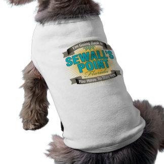 Estoy volviendo (el punto de Sewall) Camisetas De Perro