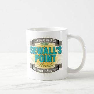 Estoy volviendo (el punto de Sewall) Taza De Café