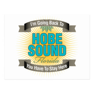 Estoy volviendo (el sonido de Hobe) Postal