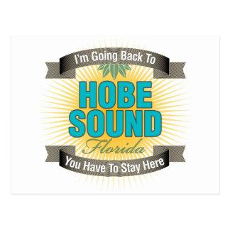 Estoy volviendo (el sonido de Hobe) Tarjetas Postales