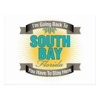 Estoy volviendo (la bahía del sur) postal