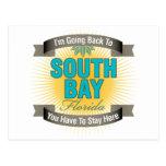 Estoy volviendo (la bahía del sur) tarjetas postales
