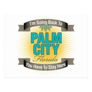 Estoy volviendo (la ciudad de la palma) postal