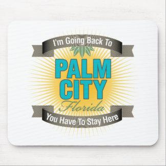 Estoy volviendo la ciudad de la palma tapetes de ratón