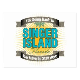 Estoy volviendo (la isla del cantante) postal
