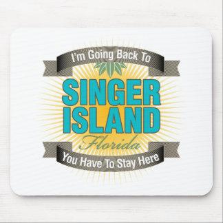 Estoy volviendo la isla del cantante alfombrillas de ratones