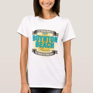 Estoy volviendo (la playa de Boynton) Playera