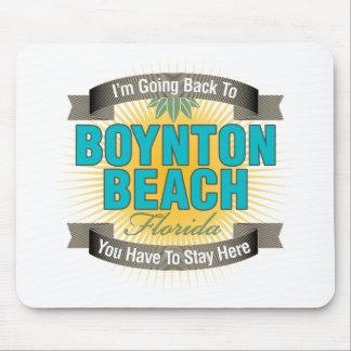 Estoy volviendo la playa de Boynton Tapete De Raton