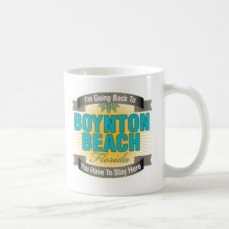 Estoy volviendo (la playa de Boynton) Taza
