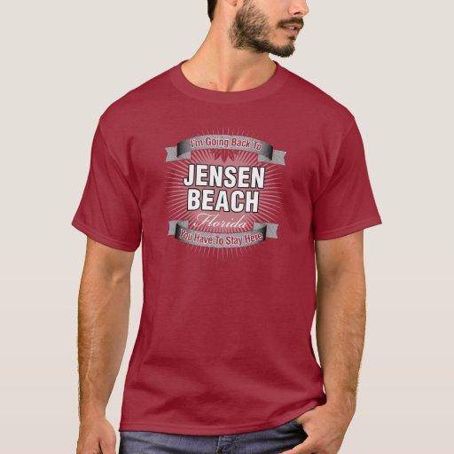 Estoy volviendo (la playa de Jensen) Playera