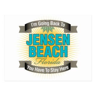 Estoy volviendo (la playa de Jensen) Postal