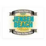 Estoy volviendo (la playa de Jensen) Postales