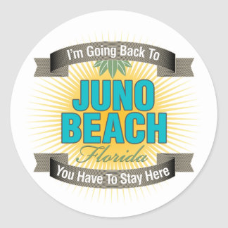 Estoy volviendo la playa de Juno Etiqueta Redonda