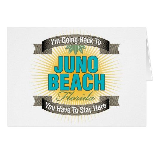 Estoy volviendo (la playa de Juno) Felicitacion