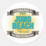 Estoy volviendo (la playa de Juno) Etiqueta Redonda