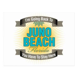Estoy volviendo (la playa de Juno) Postal