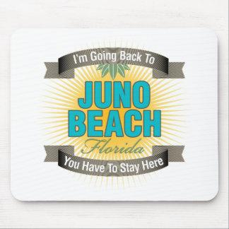 Estoy volviendo la playa de Juno Alfombrillas De Ratones