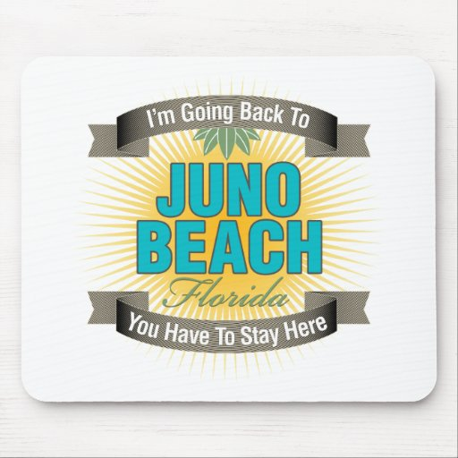 Estoy volviendo (la playa de Juno) Alfombrillas De Ratones
