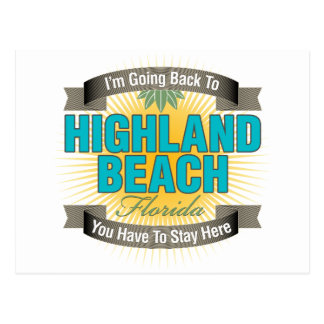 Estoy volviendo (la playa de la montaña) postal