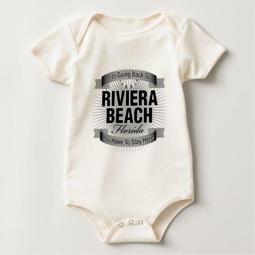 Estoy volviendo (la playa de Riviera) Body Para Bebé