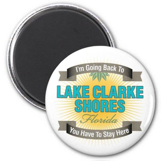 Estoy volviendo (las orillas de Clarke del lago) Imán Redondo 5 Cm