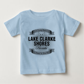 Estoy volviendo (las orillas de Clarke del lago) Playera De Bebé
