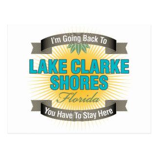 Estoy volviendo (las orillas de Clarke del lago) Tarjetas Postales