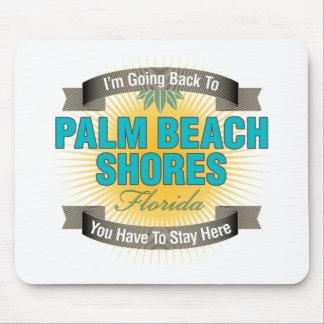 Estoy volviendo (las orillas del Palm Beach) Alfombrillas De Raton