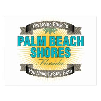 Estoy volviendo (las orillas del Palm Beach) Tarjeta Postal