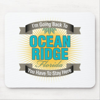 Estoy volviendo océano Ridge Tapete De Raton