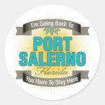 Estoy volviendo (puerto Salerno) Etiqueta