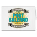 Estoy volviendo (puerto Salerno) Felicitación