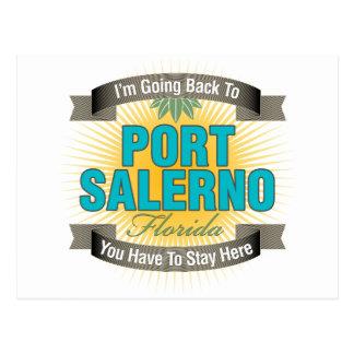 Estoy volviendo (puerto Salerno) Postal