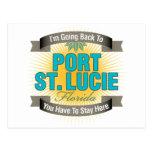 Estoy volviendo (puerto Sta. Lucía) Postal