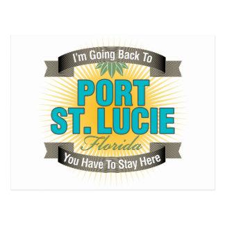 Estoy volviendo (puerto Sta. Lucía) Tarjeta Postal